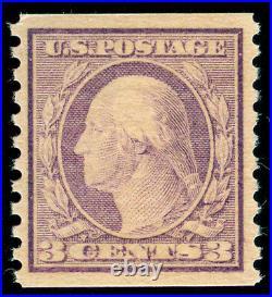 Momen US Stamps #493 MINT OG NH PSE Graded XF-SUP 95