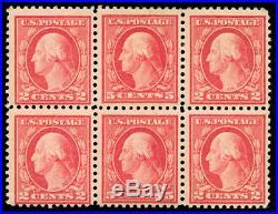 Momen US Stamps #505 Mint OG Bouble Error Block of 6