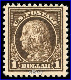 Momen US Stamps #518b Mint OG VF PF Cert
