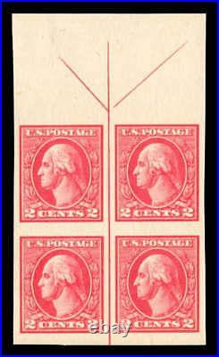 Momen US Stamps #534 Mint OG NH XF Arrow Block of 4