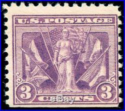 Momen US Stamps #537a Mint OG NH PF Cert