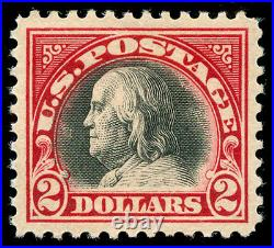 Momen US Stamps #547 Mint OG SUPERB