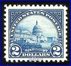 Momen US Stamps #572 Mint OG NH PSE Graded 90