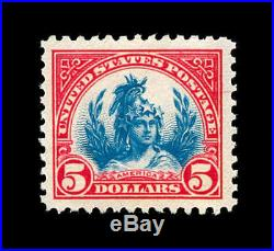 Momen US Stamps #573 Mint OG NH SUPERB JUMBO PSE Cert