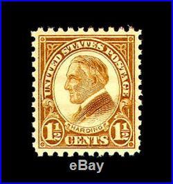 Momen US Stamps #582 Mint OG NH PSE Graded SUP-98