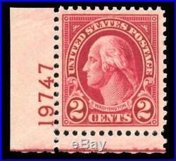 Momen US Stamps #634A Mint OG NH PSE Graded XF-90J