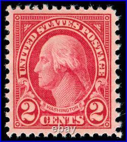 Momen US Stamps #634 MINT OG NH GEM PF CERT
