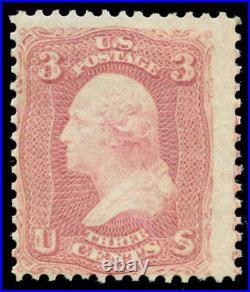 Momen US Stamps #64 Mint OG SCARCE PF Cert