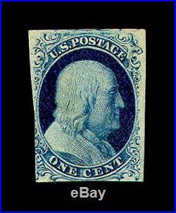 Momen US Stamps #7 Mint OG Fine PSE Cert