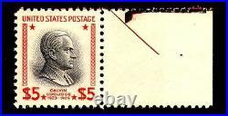 Momen US Stamps #834 Mint OG NH PSE Graded 95