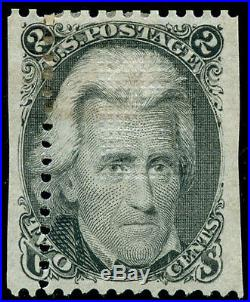 Momen US Stamps #93 Var. Mint OG Misperfed