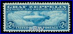 Momen US Stamps #C15 GRAF ZEPPELIN MINT OG NH PSE CERT VF/XF