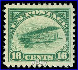 Momen US Stamps #C2 MINT OG NH PSE GRADED Cert XF-SUP 95