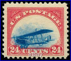 Momen US Stamps #C3 Grounded Plane Variety Mint OG NH VF PSE Cert