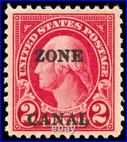 Momen US Stamps Canal Zone #84b Mint OG PF Cert XF
