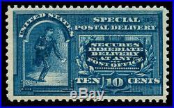 Momen US Stamps #E5 Mint OG NH XF PSE Cert