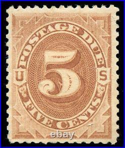 Momen US Stamps #J4 Postage Due Mint OG VF/XF