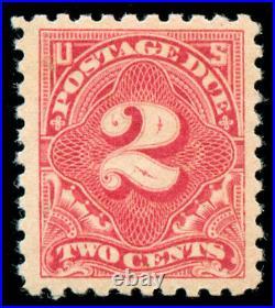 Momen US Stamps #J60 Rose Mint OG NH VF/XF PF Cert