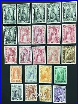 Momen US Stamps #PR57P4-PR79P4 PLATE PROOF ON CARD LOT #70823