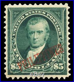 Momen US Stamps Philippines #225 Mint OG PF Graded 90