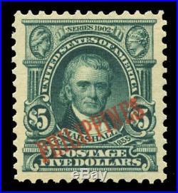 Momen US Stamps Philippines #239 Mint OG PF Graded 90