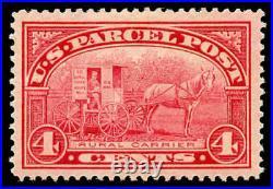 Momen US Stamps #Q4 Mint OG XF-SUP Jumbo