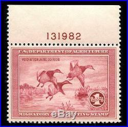 Momen US Stamps #RW2 Mint OG NH Duck VF/XF PSE Cert