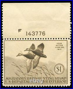 Momen US Stamps #RW7 Mint OG NH F/VF