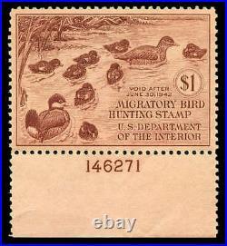 Momen US Stamps #RW8 Mint OG NH PSE Graded XF-SUP 95
