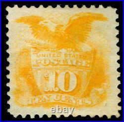 Momen Us Stamps #116 Grilled Mint Og Lh