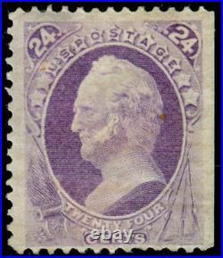 Momen Us Stamps #153 Mint Og H
