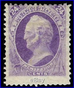 Momen Us Stamps #153 Mint Og H Unusual Rich Color