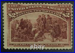 Momen Us Stamps #242 Unused Lot #72388