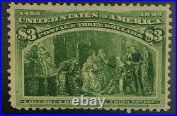 Momen Us Stamps #243 Mint Og H Lot #72389