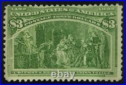 Momen Us Stamps #243 Mint Og Nh Lot #72160