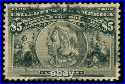 Momen Us Stamps #245 Used Vf+ Lot #71538