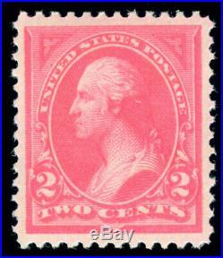 Momen Us Stamps #248 Mint Og Nh Pse Graded Cert Xf-sup 95