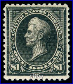 Momen Us Stamps #261a Mint Og Nh Pse Cert