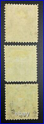Momen Us Stamps #276-278 High Values Mint Og H Lot #72385