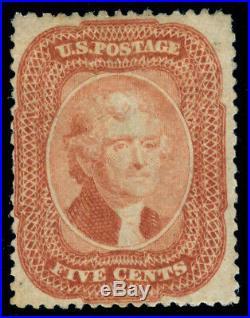 Momen Us Stamps #27 Mint Og H Pf Cert Rarity