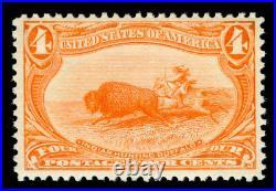 Momen Us Stamps #287 Mint Og Nh Pse Graded Cert Vf-80