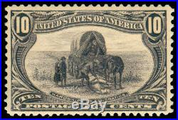 Momen Us Stamps #290 Mint Og Nh Vf Pf Certificate