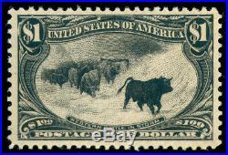 Momen Us Stamps #292 Mint Og H Vf+ Lot #70637