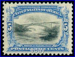 Momen Us Stamps #297 Mint Og Nh Pse Graded Cert Xf-sup 95j