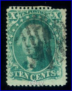 Momen Us Stamps #34 Used Lot #70366