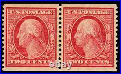 Momen Us Stamps #353 Pair Mint Og Lh Vf/xf Lot #70445