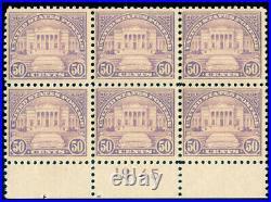 Momen Us Stamps #570 Plate Block Mint Og Nh Fresh Lot #70004