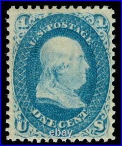 Momen Us Stamps #63 Mint Og Nh Pse Cert Lot #71255