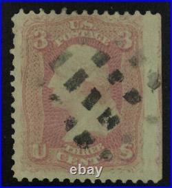 Momen Us Stamps #64 Pink Used Pse Cert Lot #72313