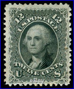 Momen Us Stamps #69 Mint Og H